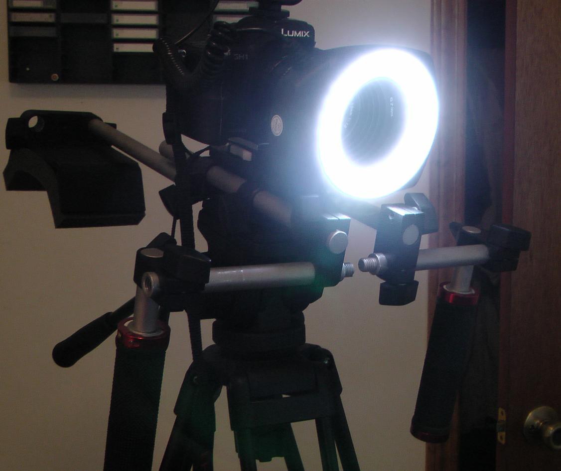 On Camera light for GH1?